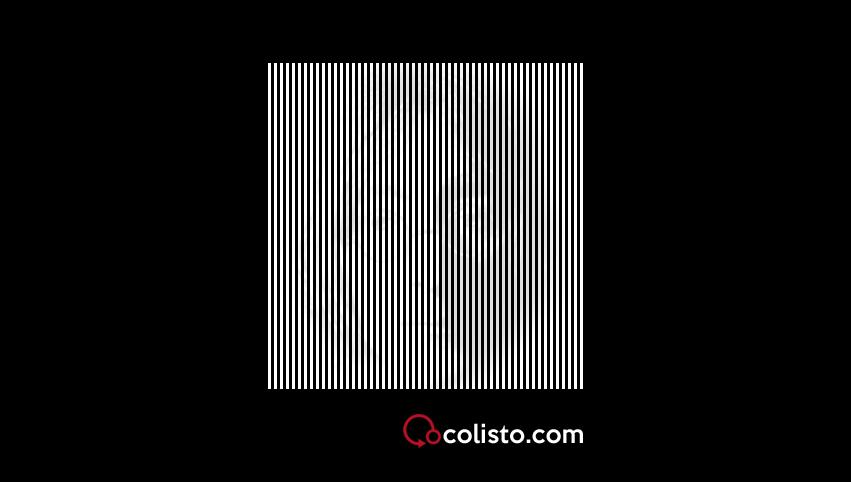 ilusión óptica lenon