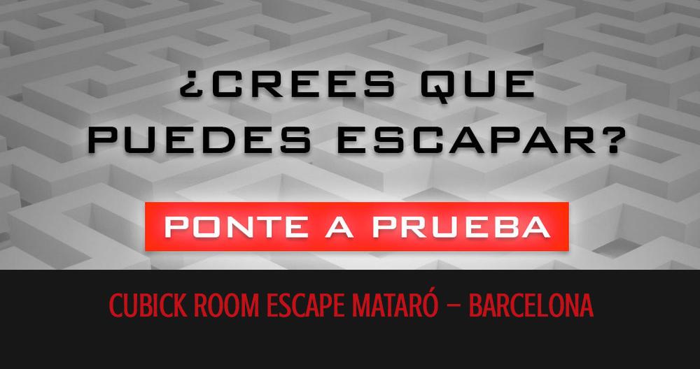 Room Escape Cubik Mataro