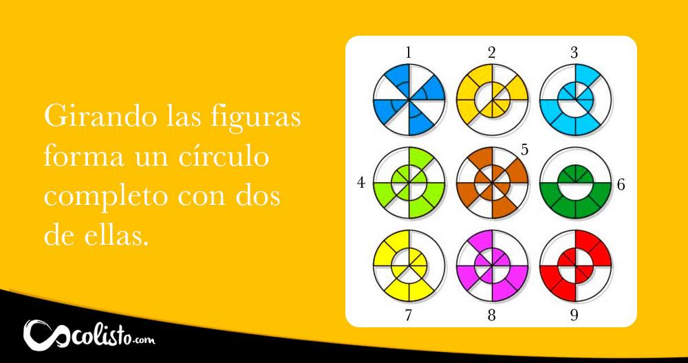 acertijo geométrico con respuesta